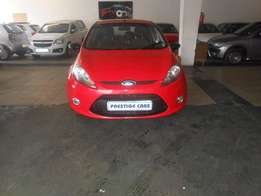 ford fiesta 1.6 hb 2012 model red color