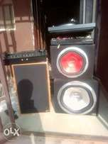 Mixer and Speaker (brand new)