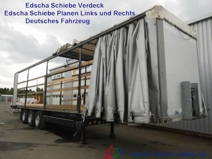 Humbaur HSA 3Achs EdschaschiebeplanenL+R+Dach+Liftachse - 2008