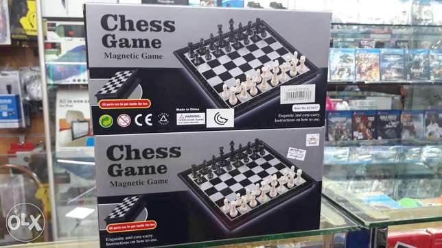 Chess game magnetic game for sale