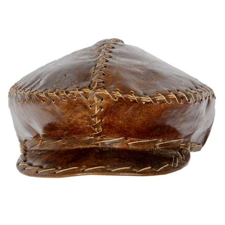 Real Leather African Cap - Handmade Lagos Mainland - image 2