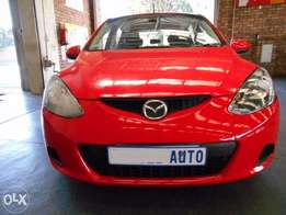 Mazda 2 2010 1.3 ComfortLine 100,000 km Manual Gear Remote Key-less