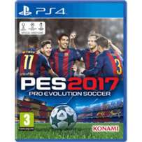 PES 17 PS4 Brand new