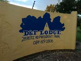 Nice,safe and secure D&F lodge in Midrand with very affordable rates