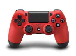 PS4 Red DualShock 4 Controller [BRAND NEW]