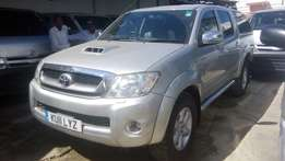 Toyota Hilux Double cabin pick up available for sale.