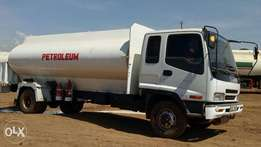 Isuzu FRR 2015 petroleum tanker on sale