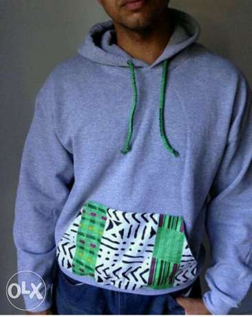 Ankara detailed Hoodies South C - image 1