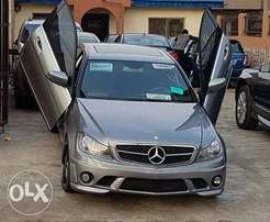 Mercedes benz c-class wing doors car with perfect system