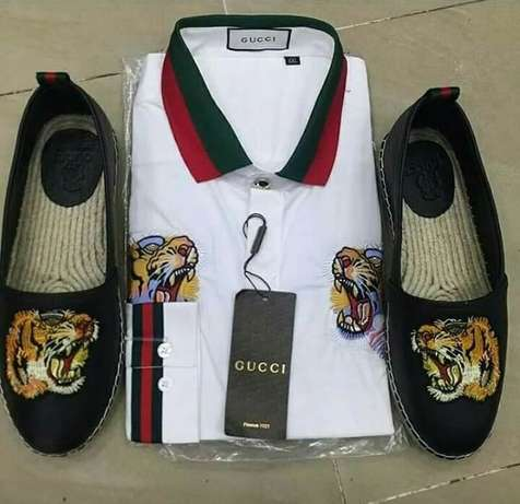 Gucci sneakers & cloth Lagos Island East - image 2