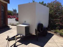 Refrigerated trailers good for storage.