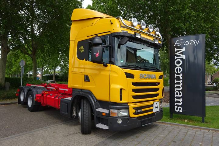 Scania G400 Highline 6x2 - 2012