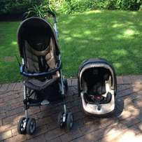 Peg Perego Pliko P3 Pram and car seat