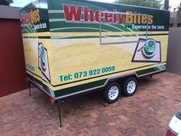Catering trailers, Coldrooms and VIP toilets