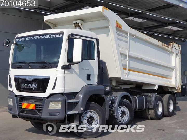 TGS 41.400 M 8X4 27m3 Euro 6 Manual Big-Axle Steelsuspension - 2017