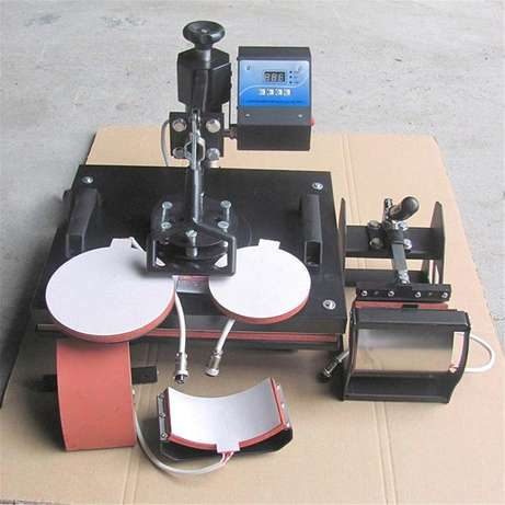 5 In 1 Heat Press Machine Digital Transfer Sublimation T-Shirt Machine Nairobi CBD - image 1
