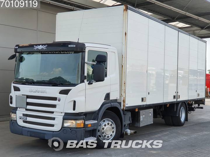 Scania P230 4X2 Manual Ladebordwand Euro 5 - 2011