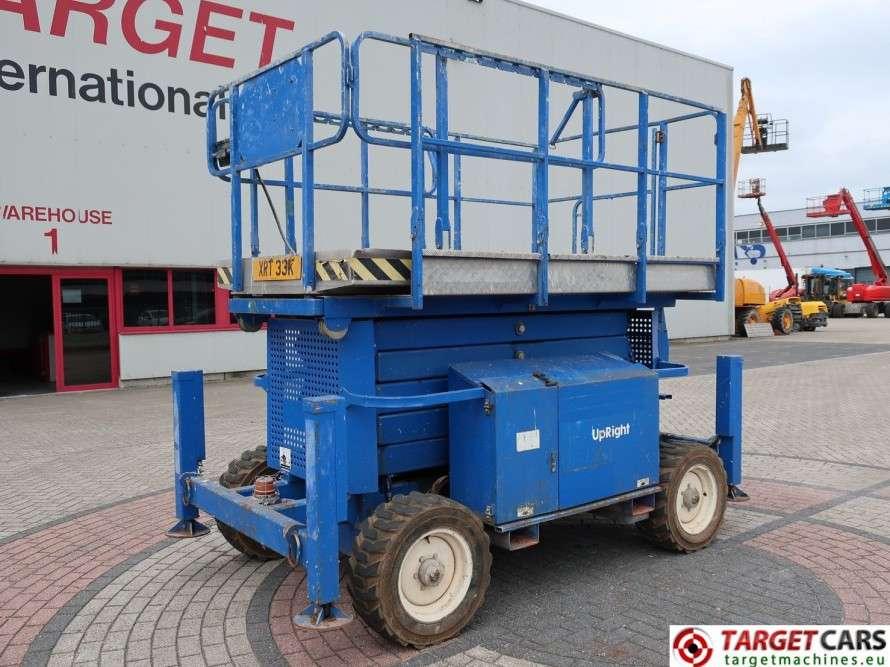 UPRIGHT X33RT Diesel 4x4 Scissor Work Lift - 2008