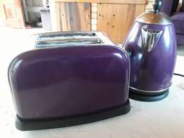 Homechoice toaster and kettle set