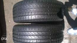 2 X 205/45/17 perilli Run flats tyres for sell
