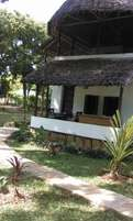 Diani beach cottages.