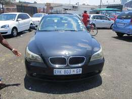 BMW 5.25 2006 Model,5 Doors factory A/C And C/D Player