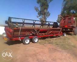 John Deere ,case,new Holland header trailer