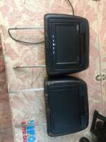 urgent sale!!! seat headrests with tv screens