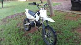 Puzey XP 125 cc for sale big wheel