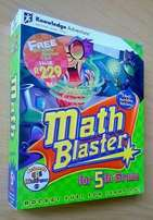 Math Blaster for 5th grade. Ages 9-11 Knowledge adventure.