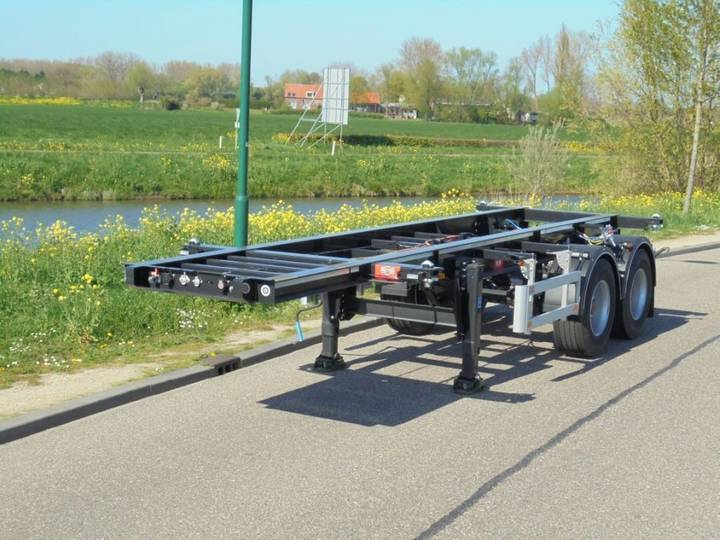 Pacton 6x 20FT Chassis / Unused - New / SAF / NL - 2017