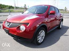 KCN Nissan Juke Color Red and Silver