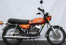 Yamaha RD350 Classic 1974 model restored