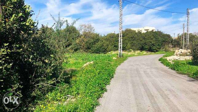 Land for sale in Eddeh -1041 sqm- ارض للبيع في اده |PLS24063