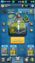 Lvl 10 Hog mountain clash royale account with legendaries lvl 2