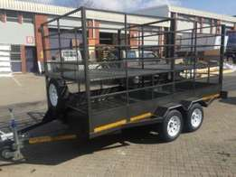 5m Cattle, Sheep and pig trailer for sale