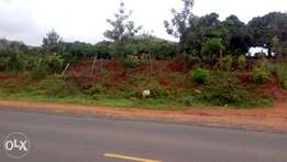 1 acre piece of land in Kaani...Along the road.