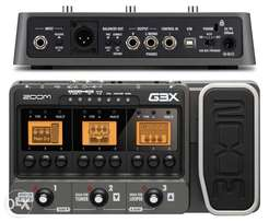Zoom G3x guitar effect
