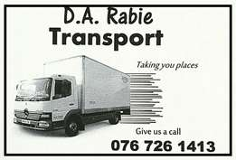 Goods Courier / Delivery / Transport