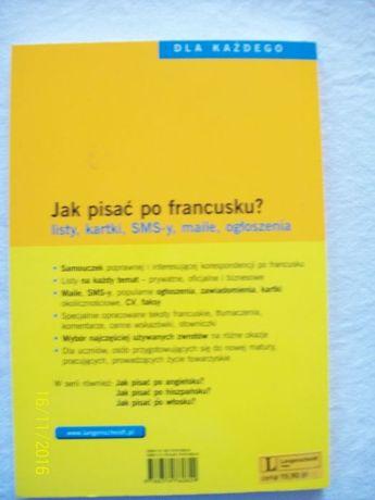 Nowa Jak Pisać Po Francusku Langenscheidt Bydgoszcz Olxpl