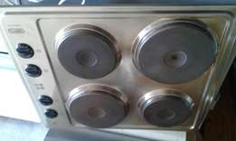 Great condition silver hob only