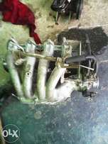Toyota corolla 160i 4afe AE111 intake manifold wit injectors for sale.