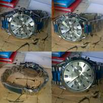 Selling omega watches Goldish and silver