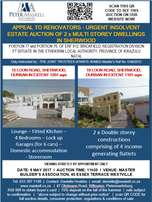 Insolvent Estate Auction_Multi storey house in Sherwood, Durban