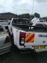 Isuzu dmax pickup salvage