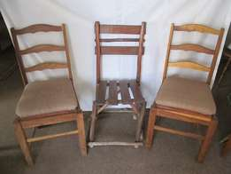 Chairs and table for sale