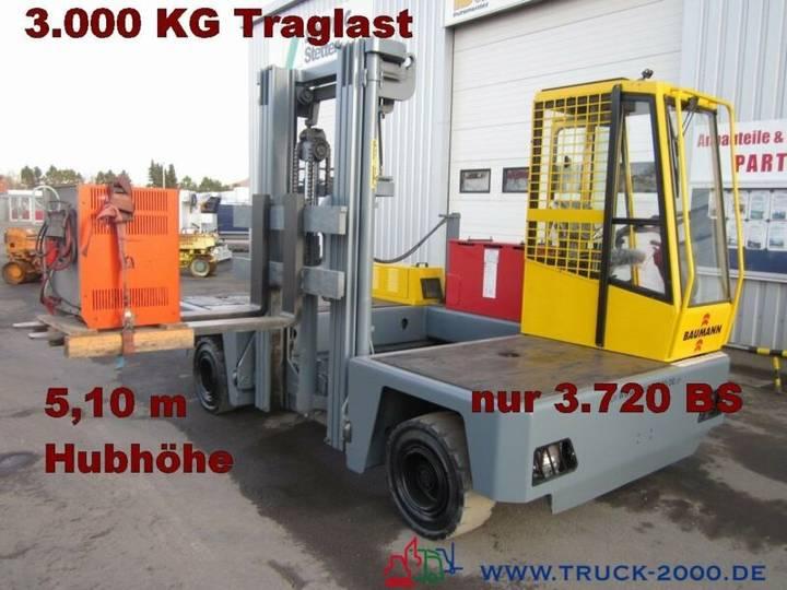 Baumann EHX 30/14/51 Seitenstapler Hubhöhe 5.10m 3.000KG - 2007