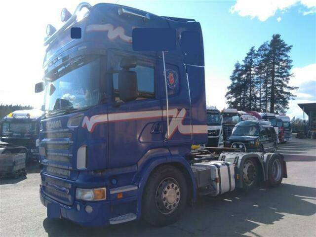 Scania R620 SOON EXPECTED 6X2 PUSHER RETARDER EURO - 2008
