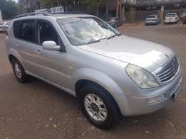 2009 Ssangyong Rexton 209 TD EL A/T for sale Tow bar, air con, electri