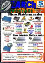 Mind blowing March specials on some of our scales!